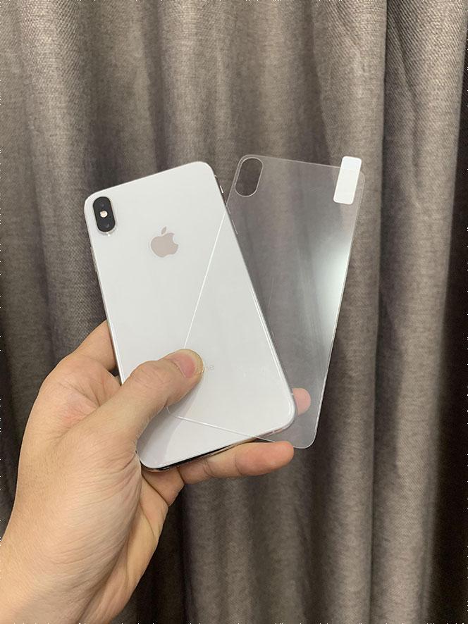 dán cường lực lưng iPhone X